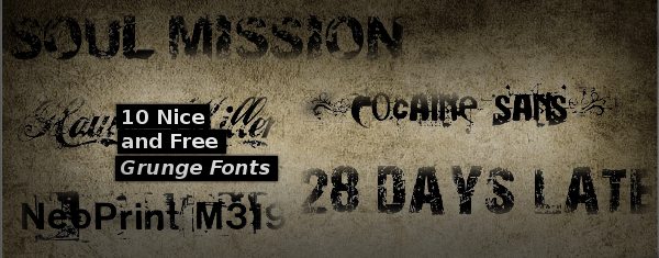10-Nice-and Free-Grunge-Fonts