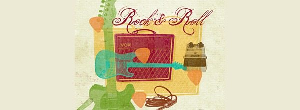 Rock and Roll Brushes