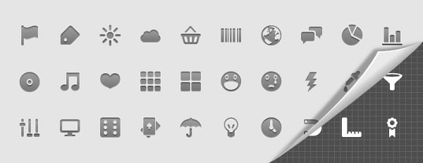 Android Developer Icons Set