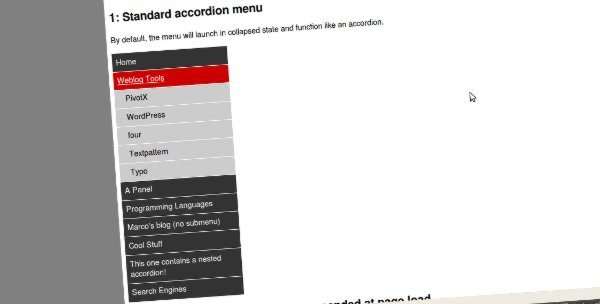 Simple JQuery Accordion Plugin