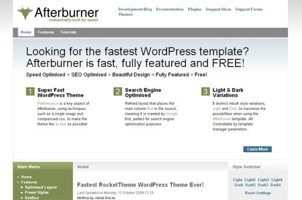 Afterburner-wordpress-theme