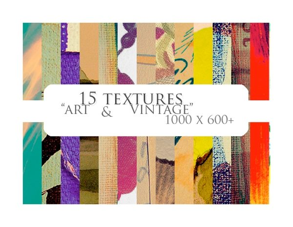 Textures art and vintage