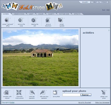 FAN Studio - Editor de images online