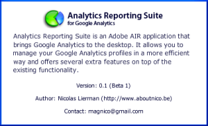 Sobre Analytics Reporting Suite