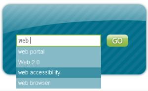 Cuadro de búsqueda que utiliza CSS Globe