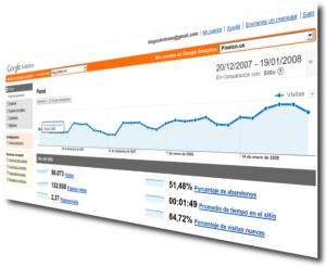 google-analytics 29 Herramientas y servicios para analizar el tráfico web de nuestros sitios
