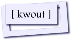 Logo kwout
