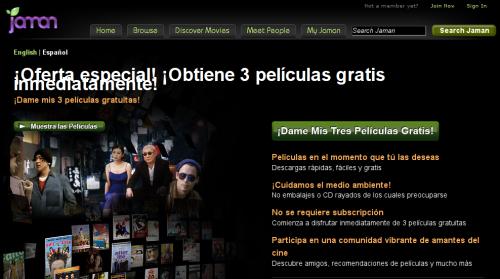 jaman Películas para ver gratis online que no se cortan