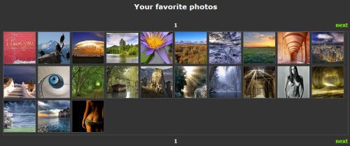Captura de mis imagenes favoritas en PHOTOREE