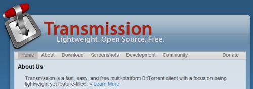 Captura de pantalla Trassminssion