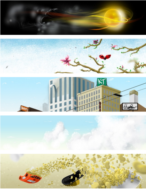 Captura de algunas de la imágenes gratis