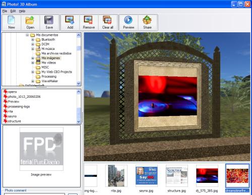 photo-3d-albun Photo 3D Album - Programa gratis para crear álbunes 3D interactivos