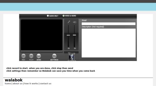 Walobok servicio online para enviar videomensajes