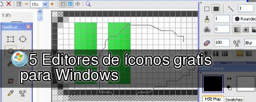 % Editores de ícnos gratis para Windows