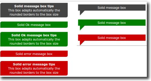 Colección CSS box