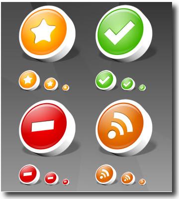 IconTexto colección de íconos gratis para ser usados en aplicaciones web