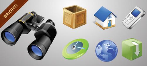 Vector Icons colección de ícono vectoriales gratis
