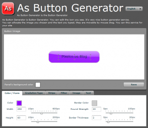 As Button Generator - Captura de pantalla