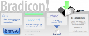 Bradicon! Herramienta online para convertir imágenes en íconos