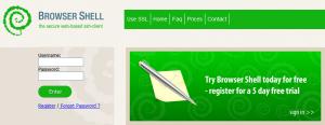 Browser Shell - Consola web para acceso SSH