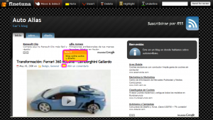 Fine Tuna - Editor | Captura de pantalla