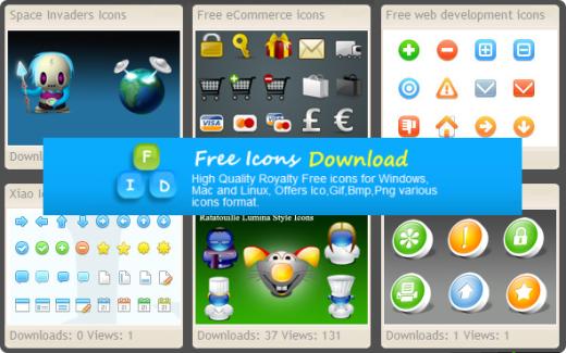Free Icons Download - Muestras|captura de pantalla
