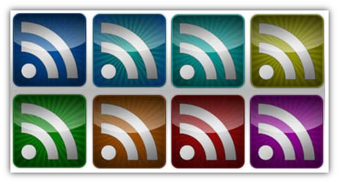 Glossy RSS Icons - Captura de pantalla