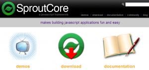 SproutCore - Captura de pantalla