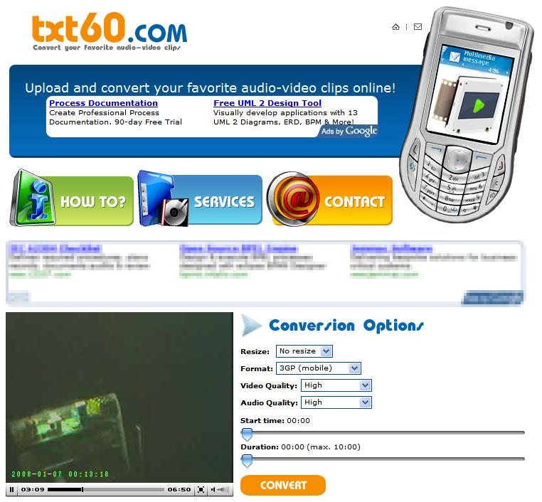 TXT60.com - Captura de pantalla