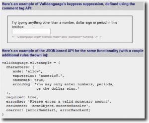 Validanguage - Biblioteca Javascript para validar formularios