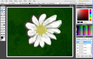 Sumopaint.com editor - Interfase | Captura de pantalla
