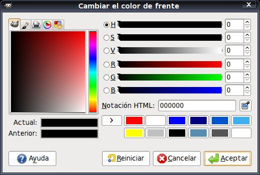 GIMP editor de fotos