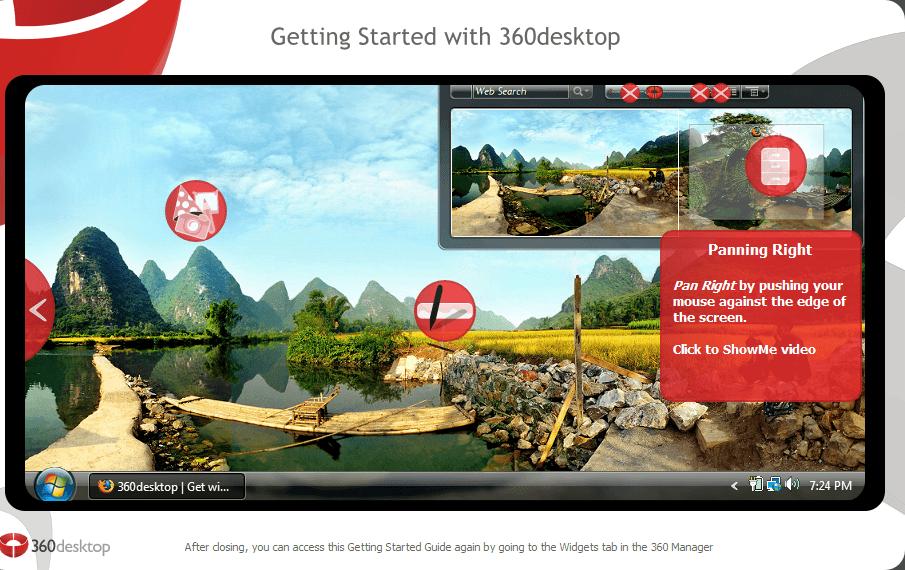 360Desktop   Captura de pantalla