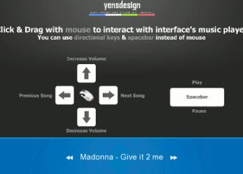 jQuery Music Player - Interfaz