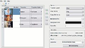 videoporama-interfaz 5 Programas gratis para convertir fotos a videos