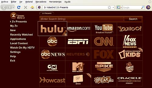 ZViewer - Firefox