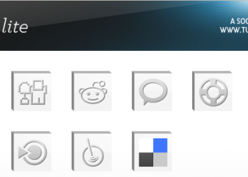 Bevel Lite Icons Set - Muestra