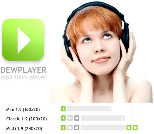 dewplayer 4 Reproductores web de video/audio