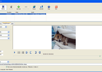 XMedia Recode - Interfaz