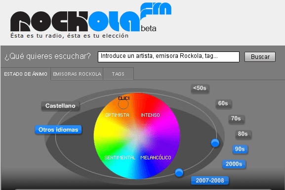 Rockola.fm - Selector