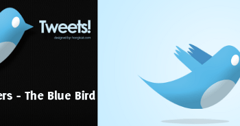 Twitter Wallpapers - The Blue Bbird | Muestra
