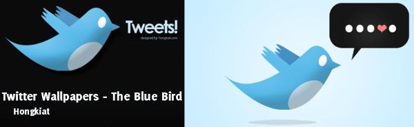 Twitter Wallpapers - The Blue Bbird | Muestra