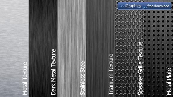 Texturas Metálicas - Metal Textures