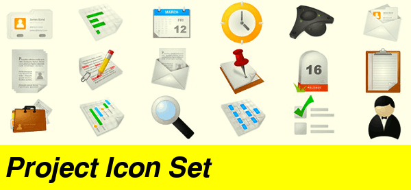 project-icon-set