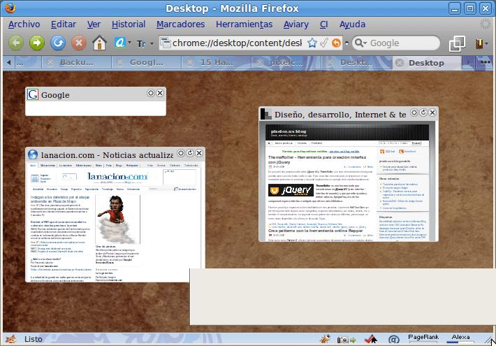 Desktop Mozilla Firefox - Captura de pantalla