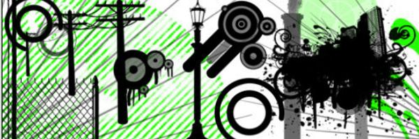 urban 14 Brushes Vectoriales - Rocopilación