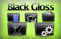 black-gloss