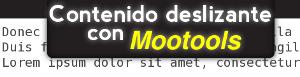contenido-deslizante-con-mootools Toggling Announcement Slider - Muestra contenido deslizante con Mootools