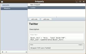 snippely-interfaz