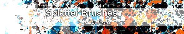 Splatter-Brushes